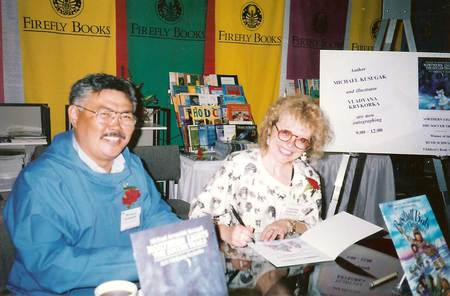 Book signing with Vladyana